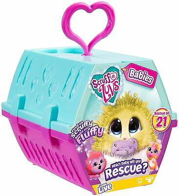 Scruff-A-Luvs Rescue - Babies & Kids Soft Pet TOY Collectable With Carrier Case