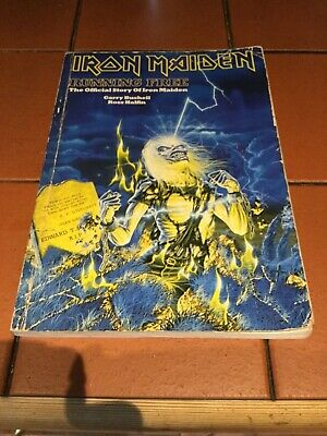 Iron Maiden Running Free  The Official Syory Of Iron Maiden  Book