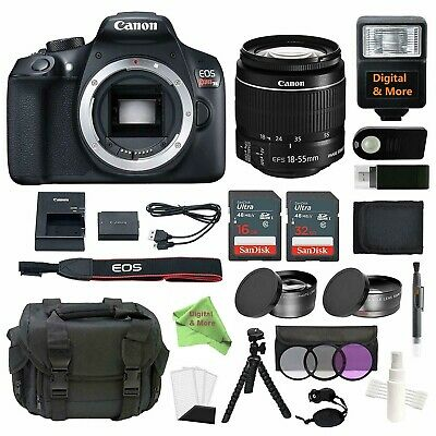 Canon EOS Rebel T6 Bundle With EF-S 18-55mm f/3.5-5.6 IS II Lens