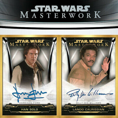 2019 Topps Star Wars Masterwork (2) HOBBY BOX LOT - Presell - qty available