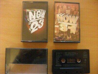 Now Thats what I call music 23 (2 tapes) and 31 (1tape) - 3 Music cassette tapes
