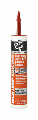 DAP Red 100% RTV Silicone Sealant 10.3 oz