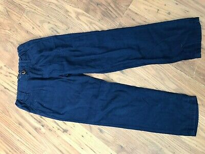 GIRLS GAP BLUE TROUSERS age 6 years IN VGC