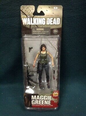 The Walking Dead Maggie Greene Action Figure Series 5 Twd Mcfarlane 2014 Nip Amc