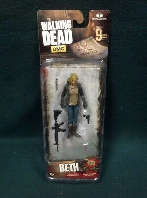 The Walking Dead Beth Action Figure Series 9 Mcfarlane 2016 Nip Amc Twd