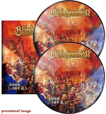Blind Guardian A Night at the Opera Double Pic Disc Vinyl LP New 2019