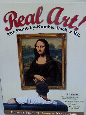 Workman 'Real Art Paint by Number' Kit Douglas Brenner:Paintings; paint;brushes