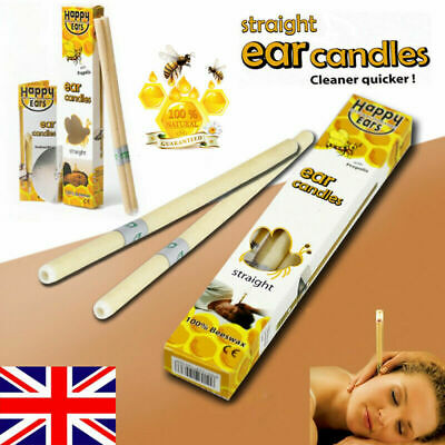 2pc Ear Cleaner Wax Removal Candles Treatment Care Healthy Candles Set UK