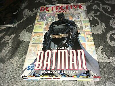 300 Pages DETECTIVE COMICS 80 YEARS OF BATMAN DELUXE EDITION HARDCOVER