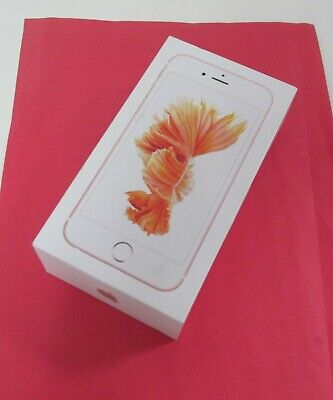 APPLE iPHONE 6S 6 S Smartphone - 32GB Rose Gold A1633 MN1L2LL/A BRAND NEW SEALED