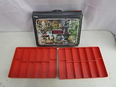 Kenner 1983 Star Wars Return of the Jedi *CARRY CASE WITH RED TRAYS*