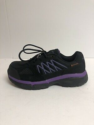 Skechers Made For Work Women's Size 8 Wide Black/Purple Casual Shoes 76586