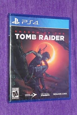 Playstation 4 Ps4 Shadow Of The Tomb Raider Game New Sealed Ships Same Day