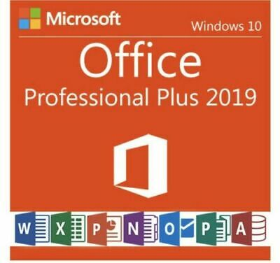 MICROSOFT OFFICE 2019 PRO PLUS For Windows 👉 Product Key / Genuine License Key