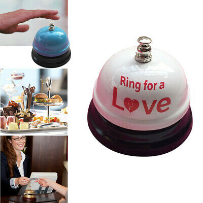 Hotel Counter Desk Bell Ring Metal Reception Restaurant Kitchen Bar Service Call