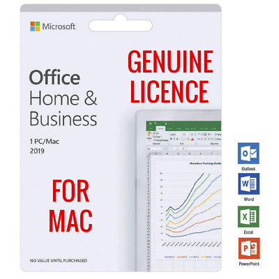 Microsoft Office Home & Business 2019 For MAC OS ♨️ Genuine License MS