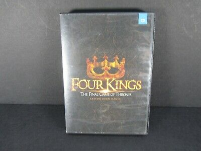 Four Kings * The Final Game Of Thrones * 5 Disc Set * John Hagee