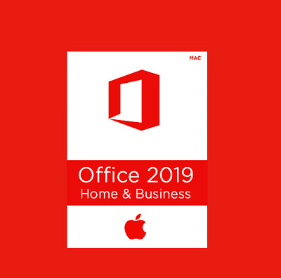 Microsoft Office Home & Business 2019 For MAC OS 🍂  MS Genuine License Product