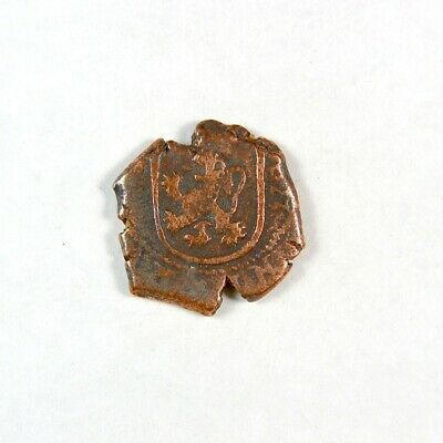 1600's Pirate Treasure Era Spanish Colonial Coin - Exact Coin 2964