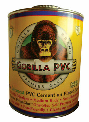 Gorilla PVC PrimaGlue Purple Primer and Cement For pvc 16 oz