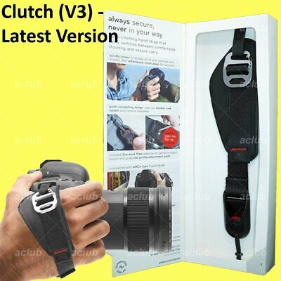 Peak Design Clutch V3 Quick-Attaching Quick-Adjusting Camera Hand Strap CL-3
