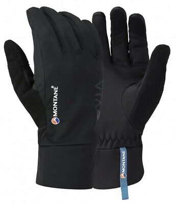 Montane VIA Trail Softshell Trail Running Glove, XL Black
