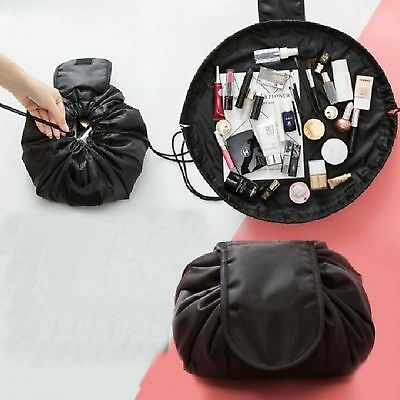 Magic Travel Pouch Drawstring Portable Travel Cosmetic Bag Makeup Toiletry