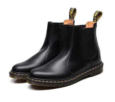 Women Chelsea Boots Real Leather Boots Ladies Ankle Bootie Shoes Slip On Boots