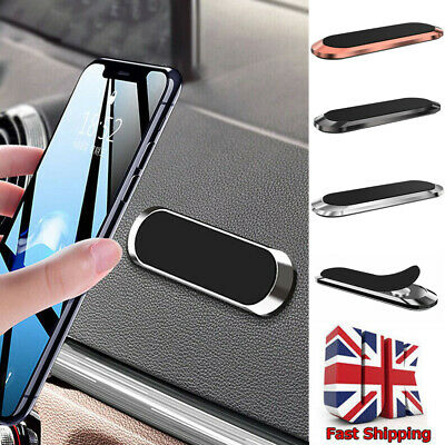 In Car Phone Holder Magnetic Fits Dashboard Universal Mount Various Colours