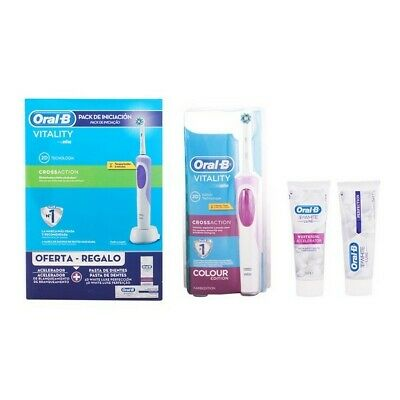 Mondhygiëneset Vitality Crossaction Oral-B (3 pcs)