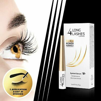 2019 Long4Lashes Fx5 Power Formula Wimpernserum By Oceanic, 3 Ml Wimpern Serum