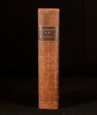 1847-1850 George Willis A Catalogue of Ancient and Modern Books Bookseller