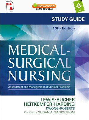Medical Surgical Nursing 10th Edition Lewis TEST BANK Ƥ-Đ-Ƒ Or Ē-ƤUƁ