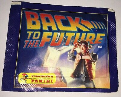 Figurine Panini Back To The Future Stickers Mint In Packer Unopened 1985 Rare