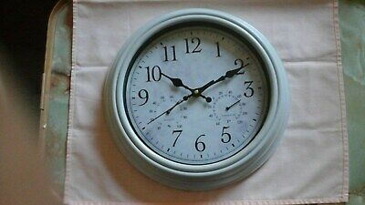 Shabby Chic Style Battery Operated Wall Clock