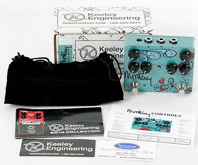 Robert Keeley Electronics Monterey Rotary Fuzz Vibe Guitar Effect Pedal #A0031