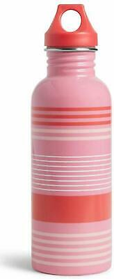 Vera Bradley Sports Water Bottle in Pink Tonal Stripe - 25 Ounce