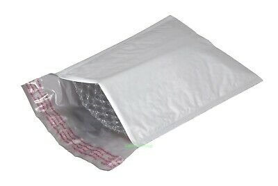 """2 PCS Poly Bubble Mailers Padded Envelopes Bags INTERIOR SIZE_3"""" x 6""""_75 x 150mm"""