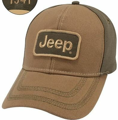 New Licensed Jeep Wrangler Rubicon Renegade Grand Cherokee Since 1941 Hat Cap!