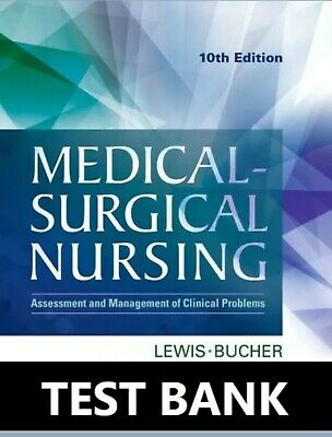 Medical Surgical Nursing 10th Edition TEST BANK. Fast SAME DAY DELIVERY