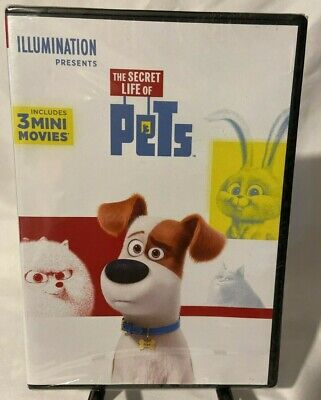 The Secret Life Of Pets [NEW DVD] FREE SHIPPING!!