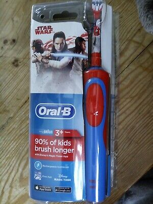 Oral-B Stages Electric Toothbrush Rechargeable for Kids | Star Wars | Free Post