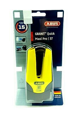 Bloccadisco Abus Granit Quick Maxi Pro 37 Sicurezza 15