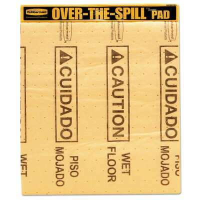 Rubbermaid® Commercial Over-The-Spill Pad Tablet w/25 Medium Spil 086876162516