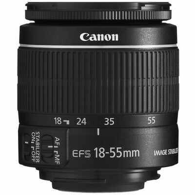 Canon EF-S 18-55mm f/3.5-5.6 IS II SLR Zoom Lens BRAND NEW IN WHITE BOX