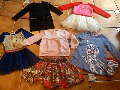MustSee Designer 5 Outfits * BillieBlush Two Dresses * Oilily Dress&Socks * 4yr