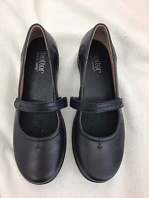 New Hotter comfort Tranquil black lightweight Mary Jane style shoes size 7