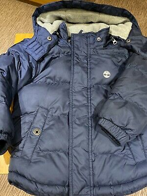 Timberland Boys Age 5 Navy Coat
