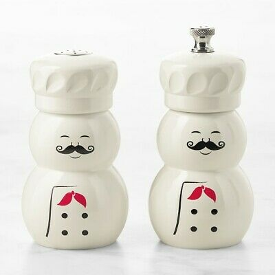 Fletchers' Mill USA French Chef Salt & Pepper Mill Set for Williams Sonoma