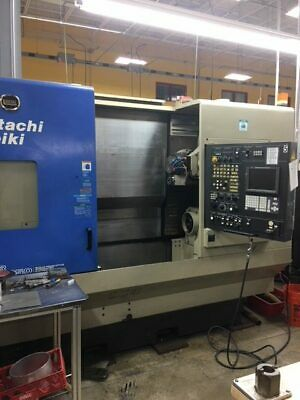 USED HITACHI SEIKI SUPER HICELL CH-250 CNC LATHE 2001 Y-Axis Sub Spindle 40 Tool